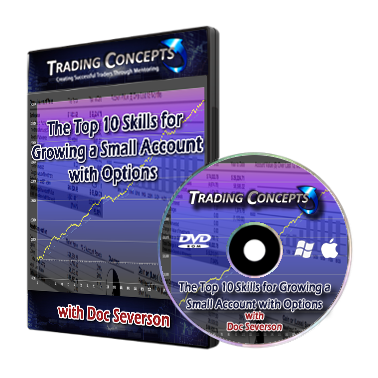 Spread trading strategies for growing a small account